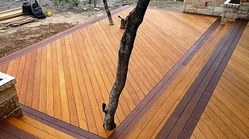 Fa terasz padlók készítése
