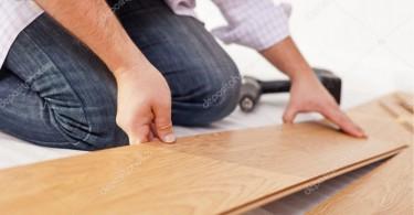 Laminált padló fektetés